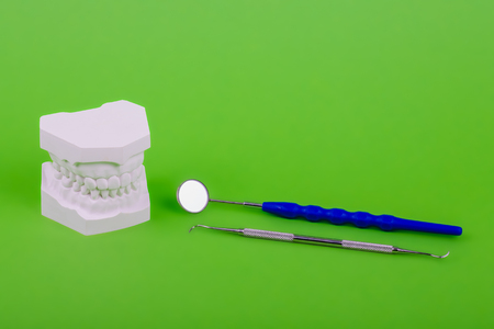 dental tools and teeth