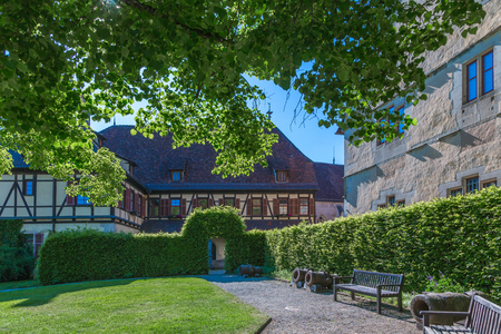Monastery Bebenhausen is a place of interest close to the city Tuebingen in Germany