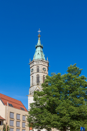 Church tower of St. Amandus in Bad Urach Germany
