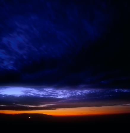 Beautiful sunset.