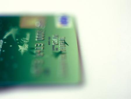 paribas: Kyiv, Ukraine - February 14, 2012: A closeup of UkrSibbank credit card. 84,99 % of UkrSibbank shares belong BNP Paribas Group. Editorial