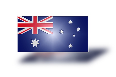 crux: National flag and state ensign of Australia  stylized I