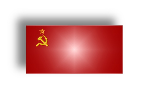 Civil and state flag and ensign of the Soviet Union from 1923 to 1991     photo