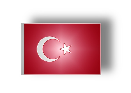chorąży: National flag and ensign of Turkey