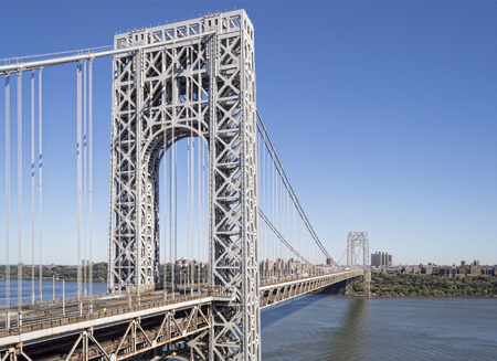 George Washington Bridge, New York City.