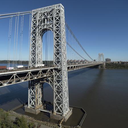 George Washington Bridge, New York City.