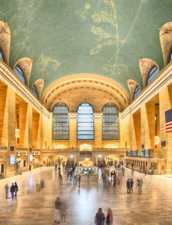 The main concourse of the Grand Central Terminal in New York City - HDR image. Sajtókép