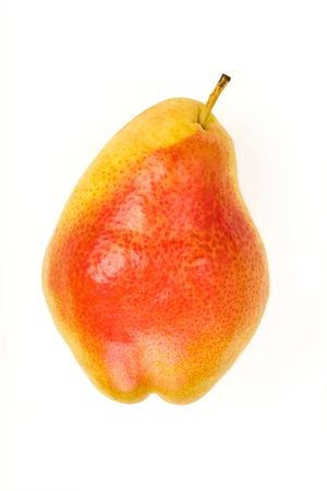 Isolated Forelle Pear Banco de Imagens