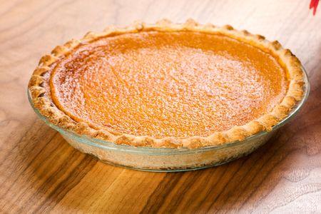 s��kartoffel: Ganze Sweet Potato Pie