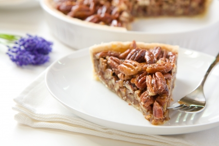 pecan: Pecan Pie Slice without whipped cream