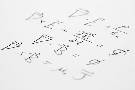 equations: The 4 maxwell equations