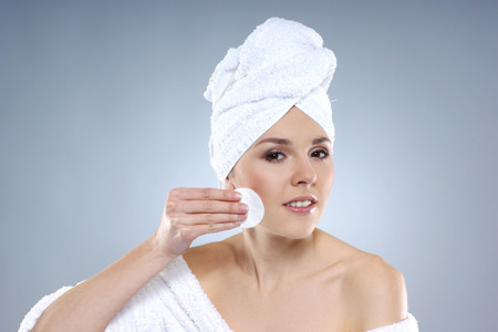 cleanse: Young, healthy and beautiful woman getting spa treatment