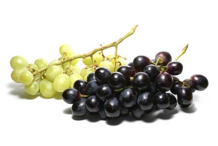 uva: Uva (cluster of grapes) isolated on white background