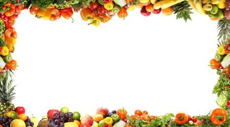 Fractal isolées de différents légumes savoureux Banque d'images - 38386427