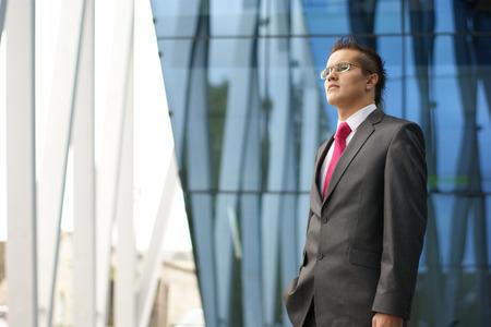 hurray: businessman Stock Photo