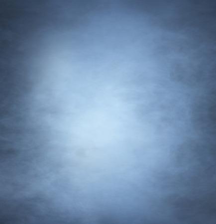 mystic place: Smoke over black background Stock Photo
