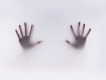 trace: Trace of hands Stock Photo