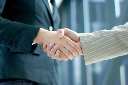 Handshake (woman and man)