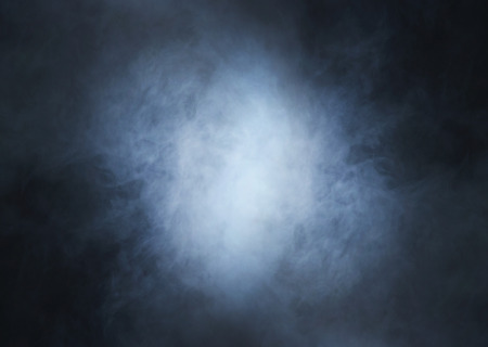 Smoke over black background 免版税图像