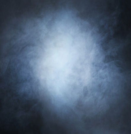 black textured background: Smoke over black background Stock Photo