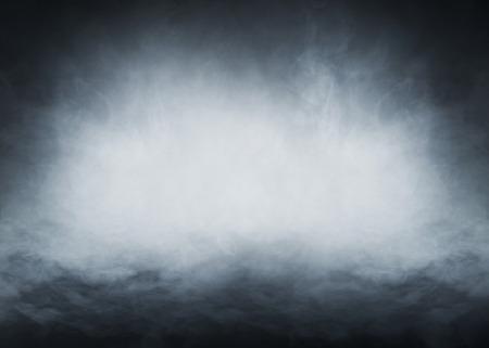 Rauch über schwarzem Hintergrund Standard-Bild - 38387831