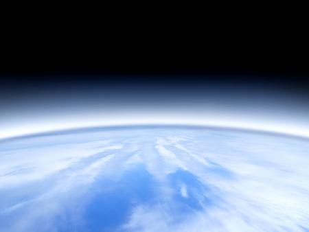 estratosfera: Vista estratosfera da Terra