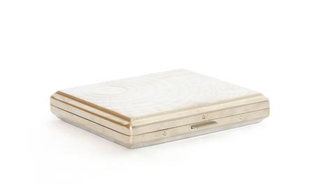 cigarette case: Cigarette box isolated on a white background Stock Photo