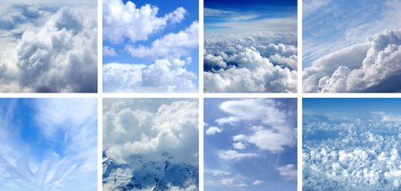 perfect: Collage made of many air shoots. Perfect as illustration. Stock Photo