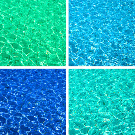deep blue: Water