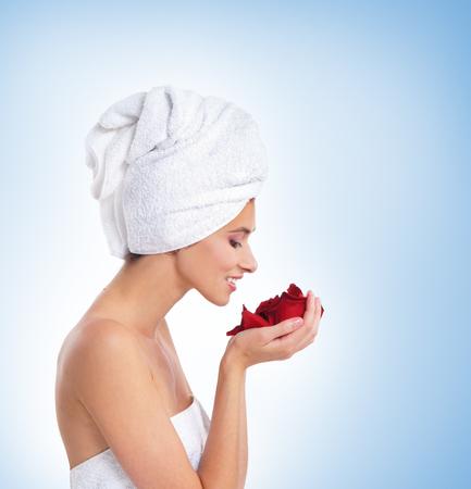 helthcare: Beautiful spa portrait