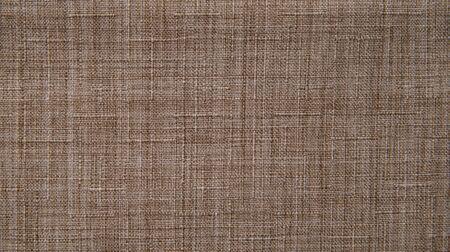 Macro textile pattern background. Natural cotton fabrics. Copy space.