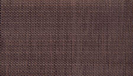 Impression de fond textile macro. Tissus en coton naturel.