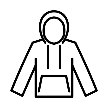 Jacket Fashion Vector Icon