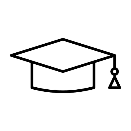 Toga Hat Education Vector Icon