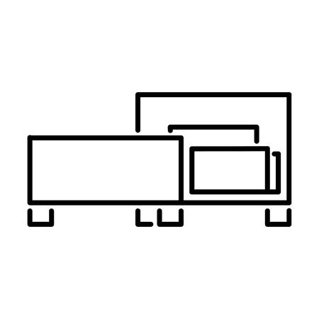 Bed Interior Vector Icon
