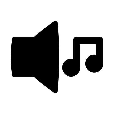Speaker Music System Sound Vector Icon
