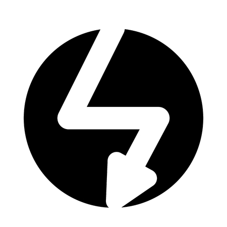 Thunderbolt System Vector Icon Vectores