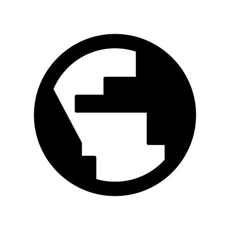 Earth Globe Web Icon Vector