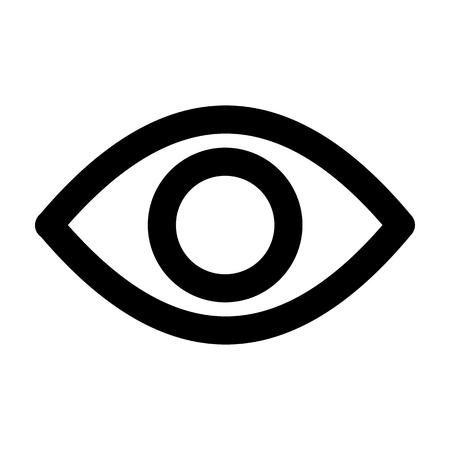 Eye View System Icon Vector Ilustração