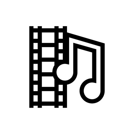 Audio & Video File Icon Vector