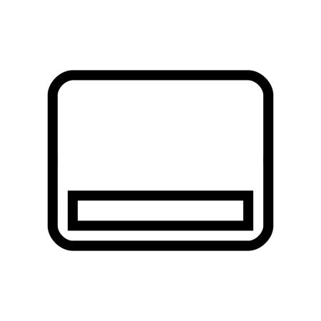 Removable Media Disk Icon Vecor 矢量图像