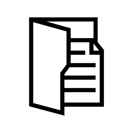Document File Folder Computer Icon Vector