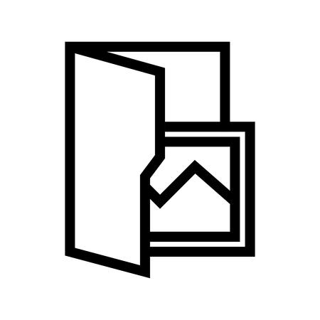 Picture Photo File Folder Computer Icon Vector