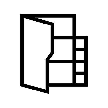 Video Film Movie File Folder Computer Icon Vector