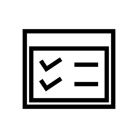 Menu Settings List icon Vector