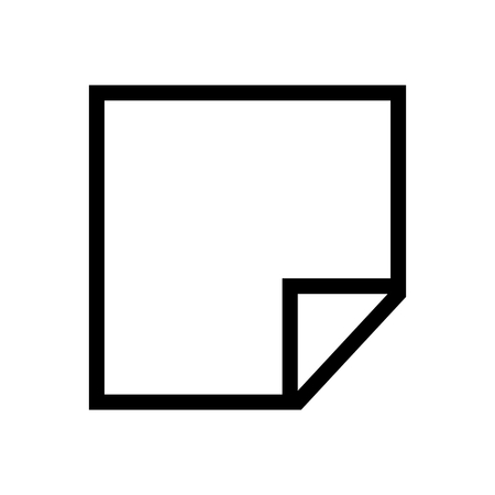 Note Comment Document Icon Vector