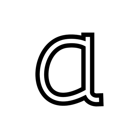 Alpha Text Math Document Font Computer Icon Vector
