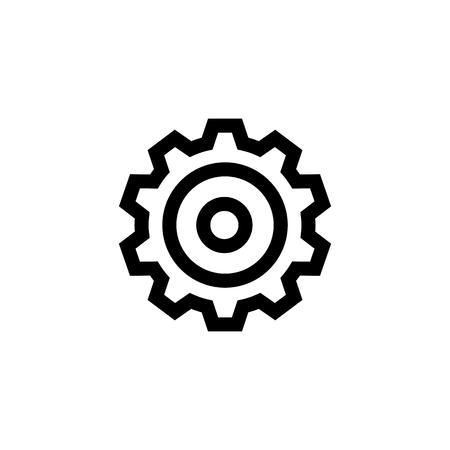 Gear, Options, Settings Icon Vector