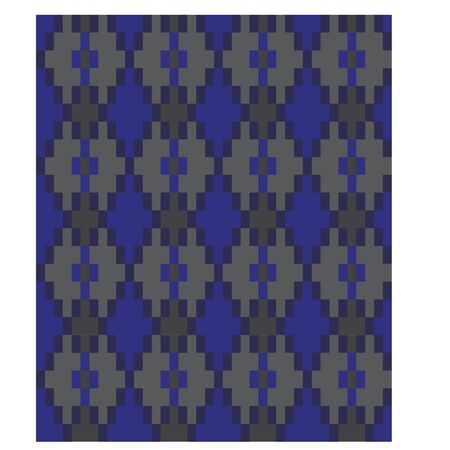 Colourful seamless  geometric pattern