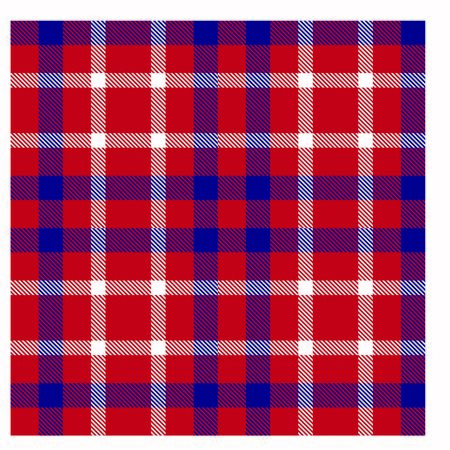 Colourful Classic Modern Plaid Tartan Seamless Print/Pattern in Vector - This is a classic plaid(checkered/tartan) pattern suitable for shirt printing, jacquard patterns, backgrounds for various mediums and websites
